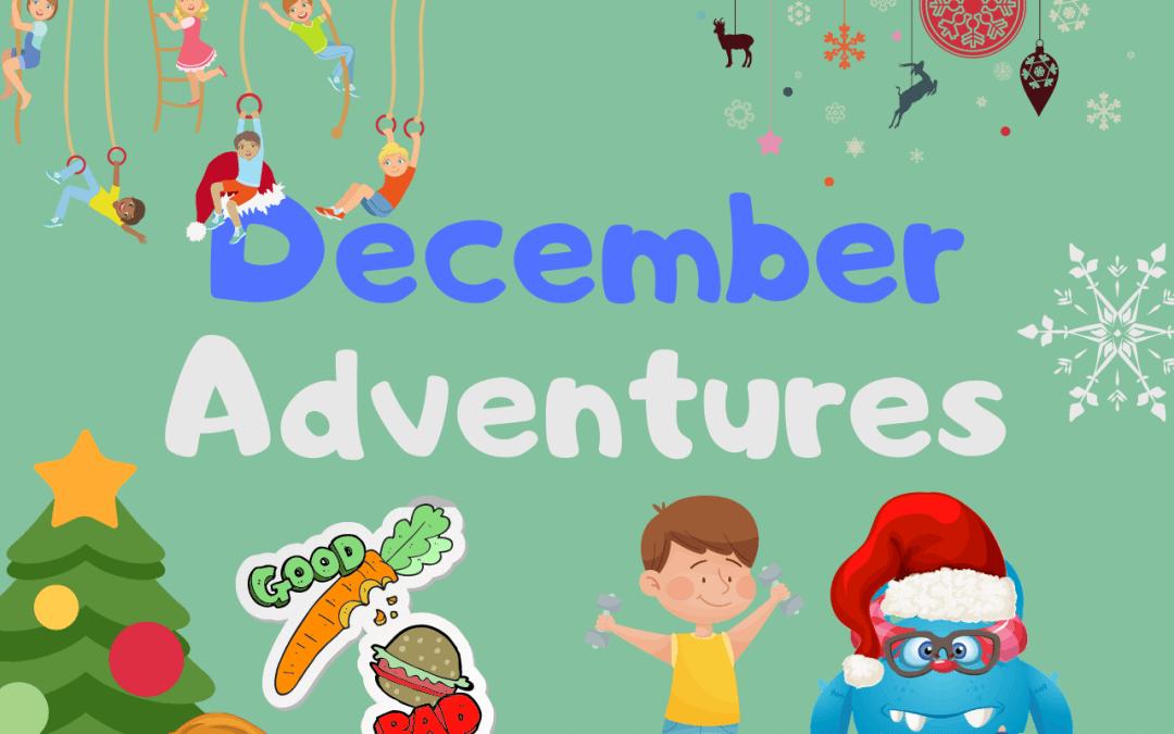 Декември е тук, време е за специални мисии и игри!
